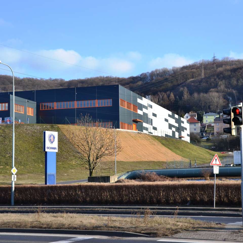 Usage: Commercial,Area: 10070m²,Country: Czech Republic